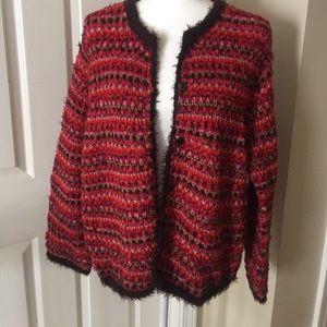 Sigrid Olsen ladies sweater. Size L